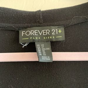 Forever 21 Sweaters - Forever 21 Long Duster Cardigan with Hood